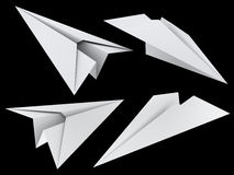 Paper toy plane Royalty Free Stock Image
