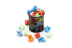 Paper trash Royalty Free Stock Image