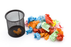 Paper trash Royalty Free Stock Photos