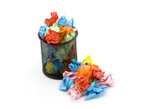 Paper trash Royalty Free Stock Images