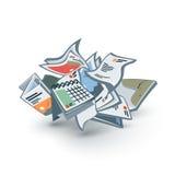 Paper Trash Stock Photos