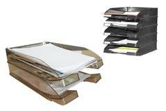 2 paper tray Стоковые Изображения