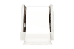 Paper tray, front view Stock Photos