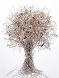 Paper tree stock image