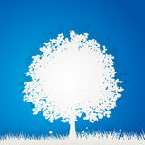 Paper tree Royalty Free Stock Photo