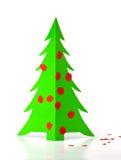 paper tree för jul Royaltyfri Foto
