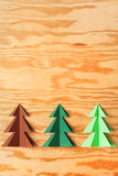 Paper trees Stock Photos