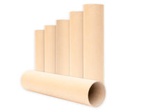 Paper tube. Stock Photography