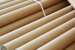 Paper tube Royalty Free Stock Image