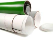 Paper tubes Stock Photos
