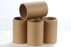 Paper Tubes royalty free stock photography