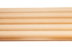 Paper tubes Royalty Free Stock Images