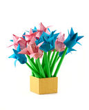 Paper tulips Stock Images