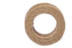 Paper Twine Macro Isolated Stock Images