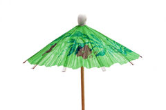 Paper umbrella Stock Photo