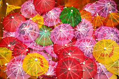 Paper umbrella Royalty Free Stock Photos