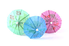 Paper umbrella Stock Image
