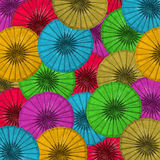 Paper umbrella Royalty Free Stock Photography