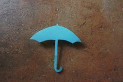 Paper umbrella Royalty Free Stock Images