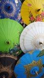 Paper umbrella Stock Photos