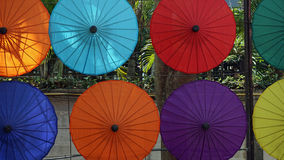 Paper umbrella Stock Photography