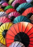 Paper umbrella Stock Image
