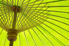 Paper umbrellas , in Chiang Mai , Thailand.  Royalty Free Stock Photos