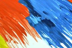 paper vattenfärg Royaltyfri Foto