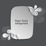 Paper vector background Royalty Free Stock Image