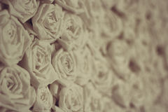 Paper vintage roses Royalty Free Stock Photos