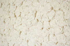 Paper vintage white roses Stock Photography