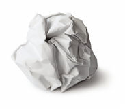 Paper wad Stock Photography