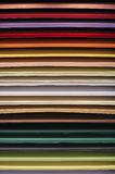 Paper-wall in different colors Royalty Free Stock Image