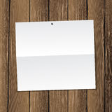 Paper on wall Royalty Free Stock Image