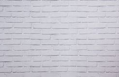 Paper wallpaper with a pattern of  white brick Stock Images