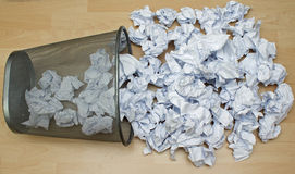 Paper waste Royalty Free Stock Images