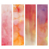 Paper watercolor painted Royalty Free Stock Photo