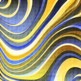 Paper waves Stock Photos