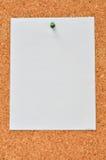 paper white Fotografering för Bildbyråer
