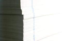 paper white Arkivbild