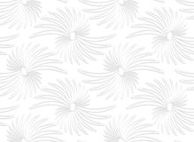 Paper white abstract daisy flowers Royalty Free Stock Photography