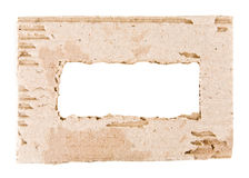 Paper. On a white background royalty free stock images