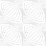Paper white diagonally striped squares Royalty Free Stock Image