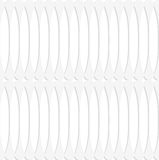 Paper white fence with thickening Stock Images