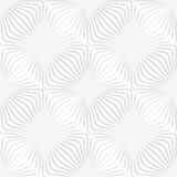 Paper white perforated stripes forming squares Royalty Free Stock Photos