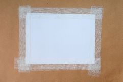 Paper white sheet Royalty Free Stock Photos
