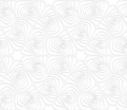 Paper white twisted striped sea shells Royalty Free Stock Photography