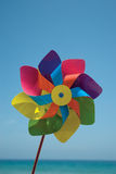 Paper Windmill. Picture of colorful paper windmill Royalty Free Stock Photography