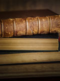 Paper wisdom. Bunch of old books , legal books , law books Royalty Free Stock Photo