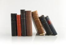 Paper wisdom. Bunch of old books , legal books , law books Royalty Free Stock Photography